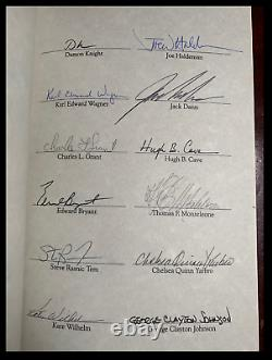 Masters Of Darkness SIGNED by STEPHEN KING & RAY BRADBURY & 36 OTHERS 1/345