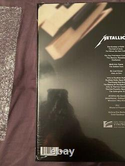Metallica S&M2 Super Deluxe Box Set Limited to 500. Sheets Signed By Band Sealed