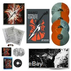 Metallica S&M2 Super Deluxe Box Set withBAND AUTOGRAPHS IN HAND Super limited