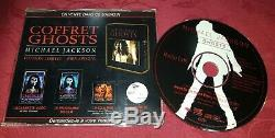 Michael Jackson RARE Coffret Ghost French PROMO CD Limited Edition smile signed
