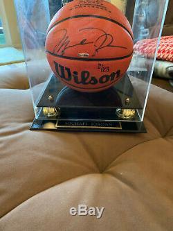 Michael Jordan Autographed NBA Achievements Basketball Limited Edition of 23