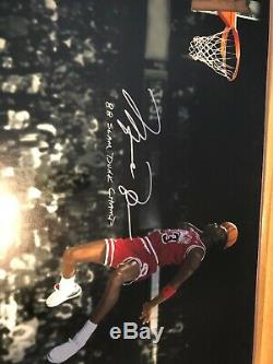 Michael Jordan Autographed Upper Deck Poster 20x24 Limited Edition 26/88 Perfect