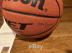 Michael Jordan I'm Back Autographed Basketball Limited Edition 1995