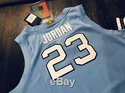 Michael Jordan North Carolina Limited Edition UNC Autographed Signed Jersey UDA