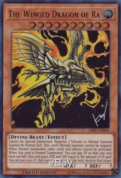 Mint Yugioh Egyptian God Card Dark Magician Girl Blue Eyes JMPS-ENS01 JUMP-EN068