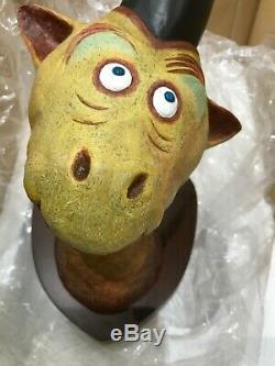 Mulberry Street Unicorn Dr. Seuss Art Unorthodox Taxidermy Sculpture RARE