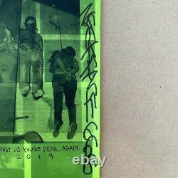 Neckface Signed Fck This Life Graffiti Art Print Zine Necktoberfest Skate Rare