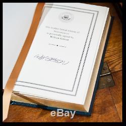 Neuromancer SIGNED by WILLIAM GIBSON Sealed Easton Press Leather Bound Hardback