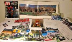 Neverland / Sycamore Valley Ranch architectural RARE! , Michael Jackson signed