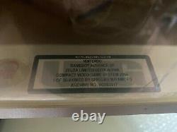 Nintendo Game Boy Advance SP Zelda Limited Edition signed by Shigeru Miyamoto