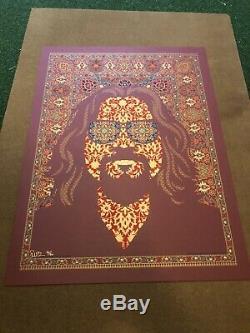 Occasional Acid Flashback Todd Slater Big Lebowski Limited Edition Print Mondo