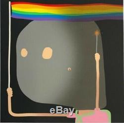 Oli Epp Pride Limited Edition Signed Print. Banksy, Hirst, Miller, Kaws, invader