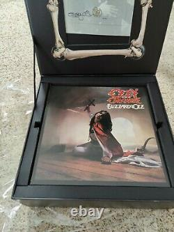Open Box Ozzy Osbourne SEE YOU ON THE OTHER SIDE Vinyl Box Set Autograph As Is