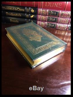 Outlander SIGNED by DIANA GABALDON New Sealed Easton Press Leather Bound Gift