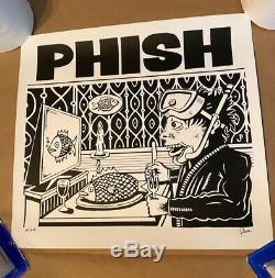 Phish Pollock Dinner And A Movie Limited Edition Poster Signed #595/800