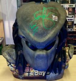 Predator Warrior Limited Edition 11 Scale Bust Signed Ian Whyte Poa/loa/coa