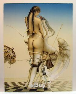 RARE! Michael Parkes PUPPETMASTER s/n Limited Edition stone lithograph reg $7200