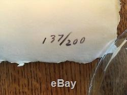 R C Gorman Kay-Bah 137/200 Limited Edition Hand Signed & Numbered Pencil