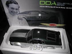 Rar Dda 1/18 Allan Moffat 33 Brut 1969 Ford Boss 302 Mustang Trans Am Signed Coa