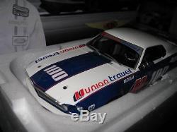 Rar Dda 1/18 Allan Moffat U100 1969 Ford Boss 302 Mustang Trans Am Signed Coa