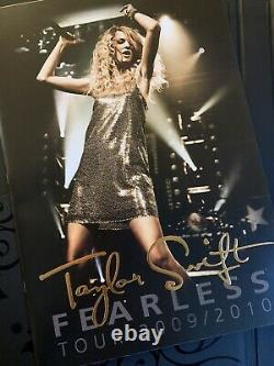 Rare, Limited Edition Taylor Swift Fearless Set Autographed, CD, Program, Etc