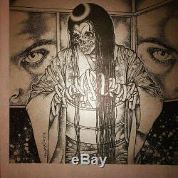 Rare Septic Death Chumoku Pushead 12 record Limited ed. Signed 4places sealed