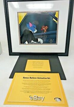 Rare Tom And Jerry Signed Limited Edition Animation Cel The Cat Concerto