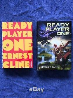 Ready Player One 1st/1st AND Signed Limited edition