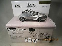 Revell Creative Masters Signature Carroll Shelby signed Shelby Cobra 427 S/C LE