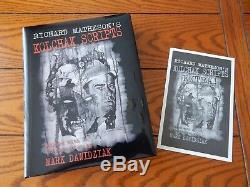 Richard Matheson's Kolchak Scripts Signed/Limited Edition #24 of 500 New