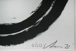 Richard Serra signed numbered iconic framed 73 lithograph limited edition framed