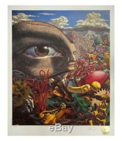 Robert Williams In The Land Of Retinal Delights Signed Limited Edition Print