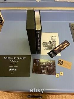 Rosemary's Baby Suntup Press Signed by C. PALAHNIUK Limited Edition 218/250