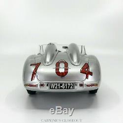 SIGNED CMC 118 1955 Mercedes-Benz 300 SLR Mille Miglia #704 Hans Herrmann