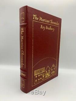 SIGNED Easton Press MARTIAN CHRONICLES Ray Bradbury Collectors Deluxe Edition CA