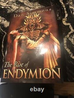 SIGNED LIMITED DAN SIMMONS HYPERION CANTOS Subterranean Press Artist Picacio