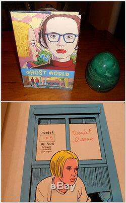 SIGNED/NUMBERED Ghost World by Daniel Clowes Limited Deluxe Edition 1997