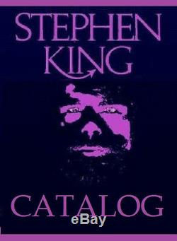 STEPHEN KING The Mist Limited #62 /150 Foil Stamped Artist Signed Chadbourne NEW