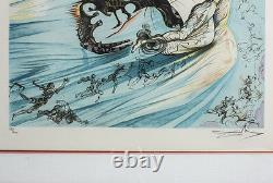 Salvador Dali Spanish 1904-1989 Lithograph Homage to Lincoln Ltd Ed Signed