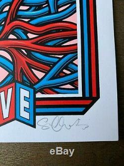 Sean Cliver Strangelove Skateboards Nike SB Limited Edition Signed Print RARE