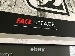Shepard Fairey + Dface Collab Face To Face Signed & Numbered Sold Out Obey