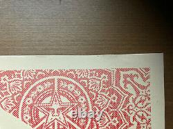 Shepard Fairey Obey Giant DUALITY OF HUMANITY Signed Numbered Screen Print