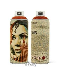 Shepard Fairey Obey Giant Lotus Angel Spray Paint Can Set Of 3 Limited Edition