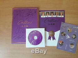 Signed A. C. E Makestar CALLIN' Album