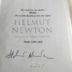 Signed Limited Edition Helmut Newton Sumo with Philippe Stark Stand #05909