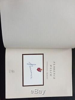 Signed Limited Edition Useless Magic Book Gucci Florence And The Machine