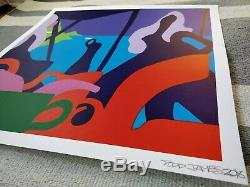 Signed Todd James Beach House Limited Edition Screen Print REAS
