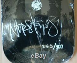 Skateboard oldschool Designarium Natas Kaupas Limited Edition signed rare SMA