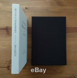 So This is Permanence Ian Curtis. Limited Edition Numbered Signed Joy Division