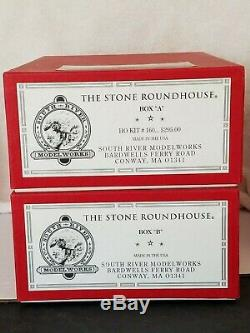 South River Modelworks Ho Kit # 160 The Stone Roundhouse Mib Signed And Dated